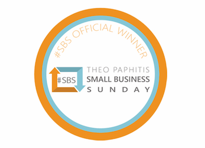 Our name in bright lights again … Infused Learning named one of Theo Paphitis' Small Business Sunday winners …